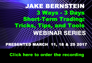 Jake Bernstein |2017 WEBINAR PACKAGE