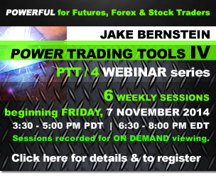 Jake Bernstein | Power Trading Tools IV Webinar Series
