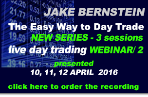 Jake Bernstein |  Day Trade the Easy Way WEBINAR SERIES / 2