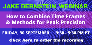 Jake Bernstein Webinar |  How to Combine Time Frames & Methods for Peak Precision